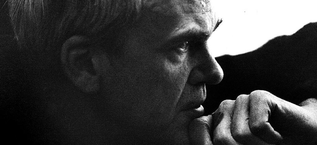 Il grande scrittore ceco Kundera